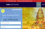 Taxi Kottayam, Taxi & Tourist Bus Service In Kottayam